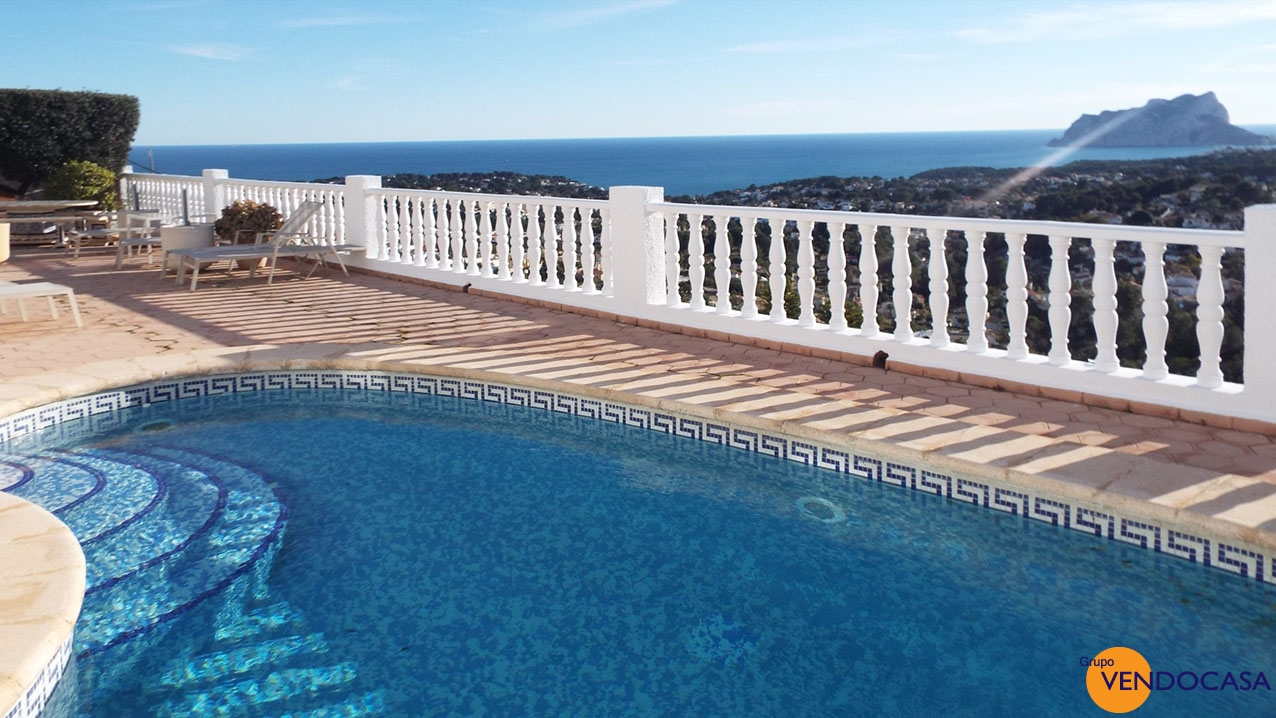 Great villa with stunning panoramic sea view